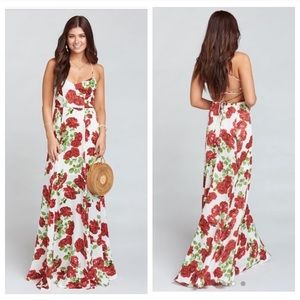 SHOW ME YOUR MUMU Godshaw Goddess Gown Rose Floral